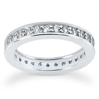 bead setting common bead set eternity wedding band 0 87 ct tw