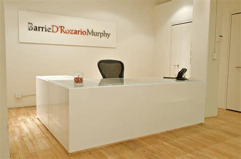 custom reception desks reception desk curved design salon spa reception