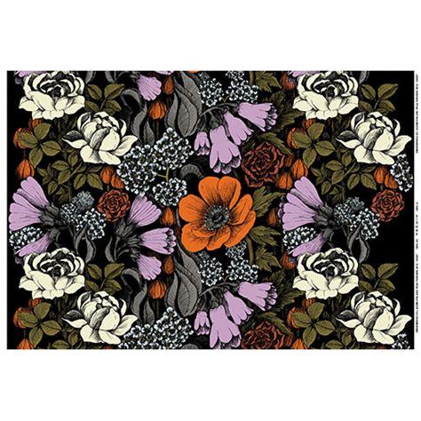 Leaves From Marimekko by Marimekko Oodi Lilac Fabric Marimekko Cotton Fabrics