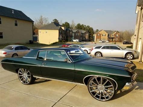 1970 chevy impala 2 door 1970 chevrolet caprice 2 door coupe impala donk classic