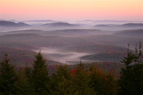 Spruce Knob West Virginia spruce knob morning wv autumn forest forest foliage autumn fall nature pictures