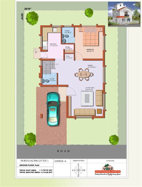 north facing floor plans per vastu house plan floor plans north facing in 30x40 jasmine gf