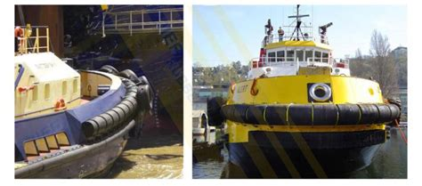 tugboat fenders workboat tugboat fenders jier marine rubber fender systems