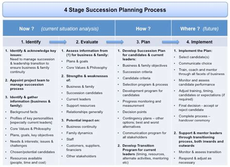 management succession plan template succession planning and transition management the