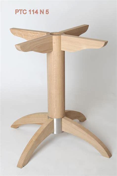 Table Bois Pied Metal