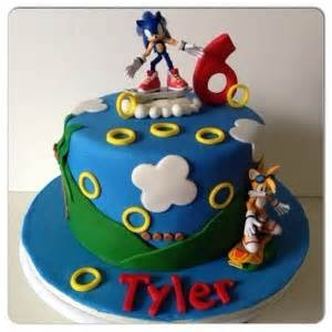 sonic cake the cake