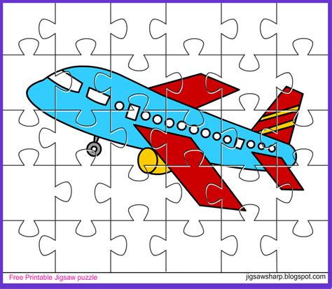 printable photo jigsaw puzzles free printable jigsaw puzzle game aeroplane jigsaw puzzle