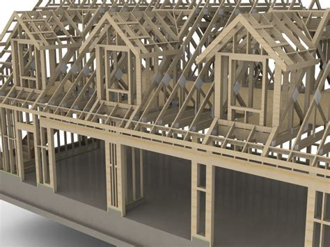 How To Frame A Dormer truss plugin extension extensions sketchup community