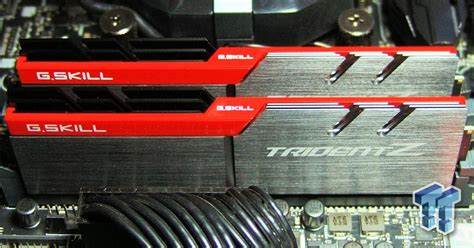 Gskill Ddr4 Tridentz Pc25600 32gb 2x16gb Dual F4 3200c16d 32gtz g skill trident z ddr4 3200 16gb dual channel memory kit