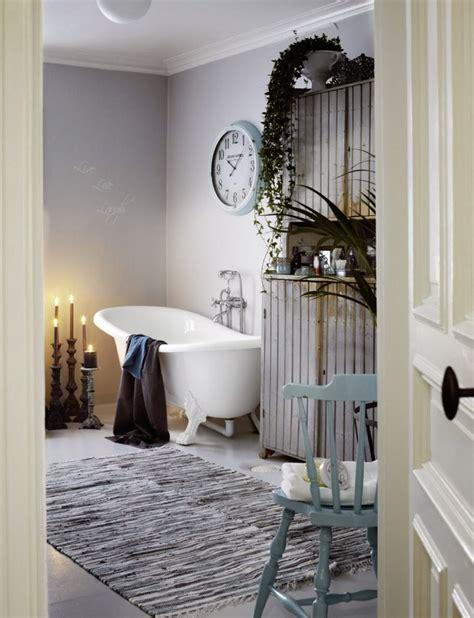 shabby chic bathroom design   hearth   sideboard