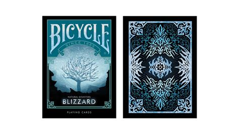 Blizzard Gift Card Sale - bicycle natural disasters inch blizzard inch playing cards by collectable playing