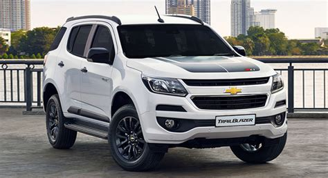 chevrolet trailblazer white chevrolet trailblazer 2018 philippines price specs