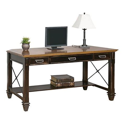 martin furniture hartford writing desk martin hartford black two tone rubbed writing desk