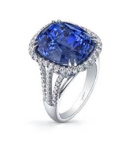 blue sapphire engagement rings white gold
