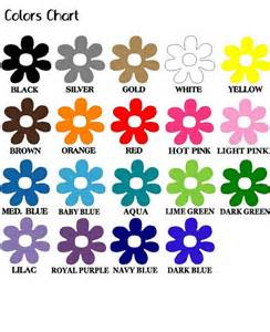 toddler color chart color chart for with names www imgkid the