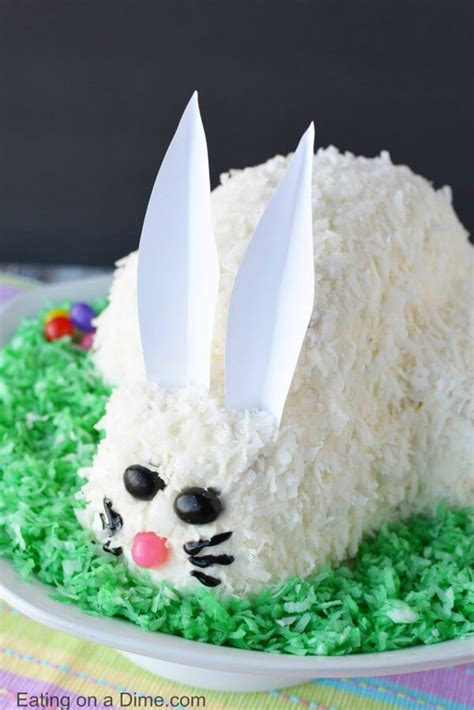 how to make a bunny cake easter bunny cake easy bunny cake recipe everyone will