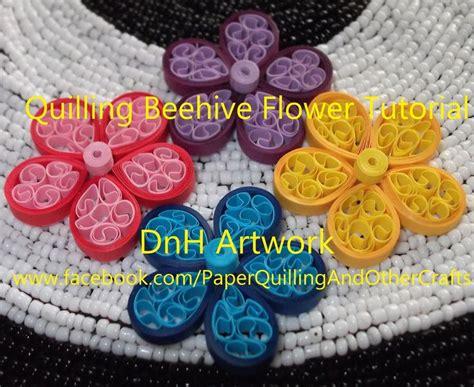 quilling beehive tutorial quilling beehive flower tutorial filigrana pinterest
