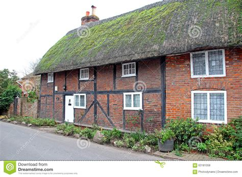 Kent Cottages by Kent Thatched Mews Cottages Stock Photo Image 63181058