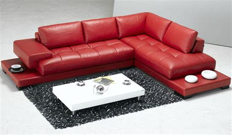 red leather sectionals 18 stylish modern red sectional sofas