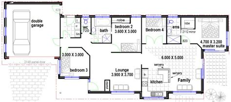 Australian Houses Narrow 4 Bedroom Home Design House House Plans Free Australia