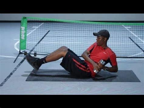 abdominal exercises  tennis tennis tips youtube