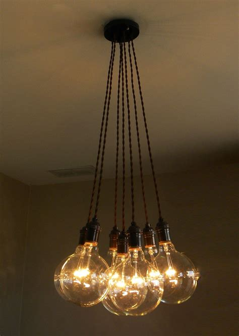 Hanging Bulb Chandelier 10 Modern Globe Chandeliers And Pendant Lights