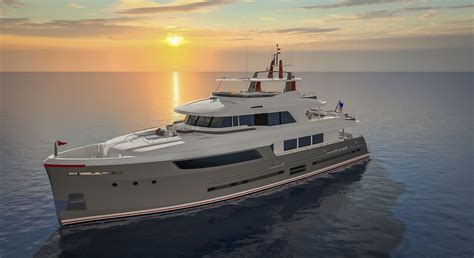 trident  fast displacement motoryacht series   cruisers megayacht news