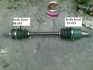 Karet Boot Cv Joint kijangtua report ganti karet boot as roda boot cv
