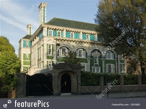 peacock house historical architecture peacock house holland park london stock picture i2915853
