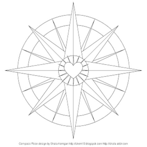 coloring page of compass rose compass rose coloring pages print freecoloring4u com