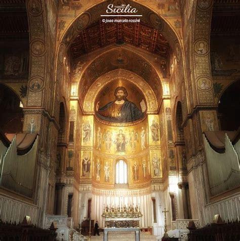 duomo di monreale interno la cattedrale di palermo e il duomo di monreale uniti da