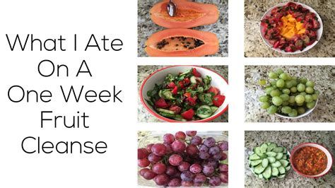 Where To Go For A Week To Detox Marijuana by What I Ate On A One Week Fruit Cleanse
