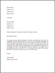 directive template sle directive letter template formal word templates