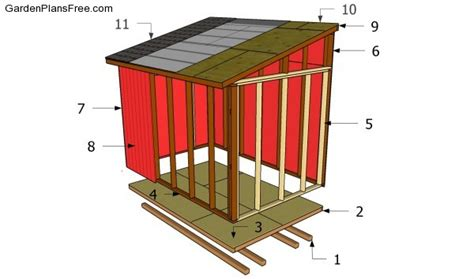 Building A Lean To Shed Plans by Lean To Shed Plans Free Free Garden Plans How To Build