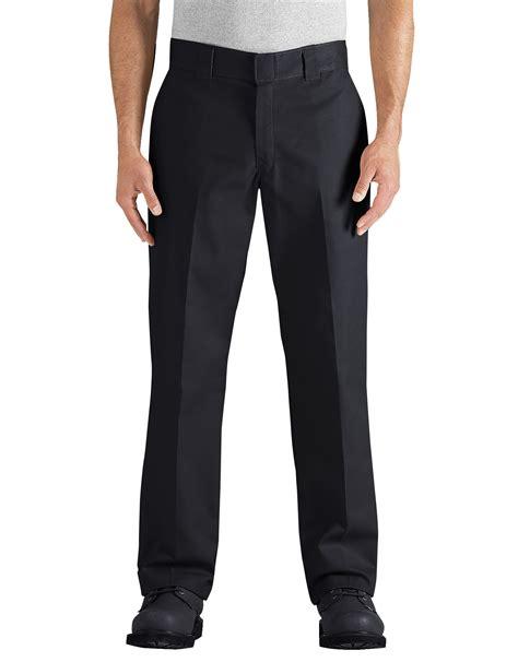 Regular Fit flex regular fit leg twill work black