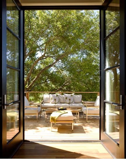 Contemporary Patio Doors Modern Patio Doors Contemporary Deck Patio Dowling Kimm Studios