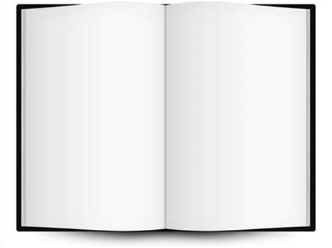 open book template blank open book template white tablet pc clipart best