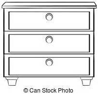 White Bookcase With Drawer Storage Cabinet Clipart Vector Graphics 1 176 Storage