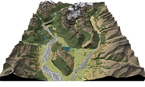 2d and 3d maps geographx