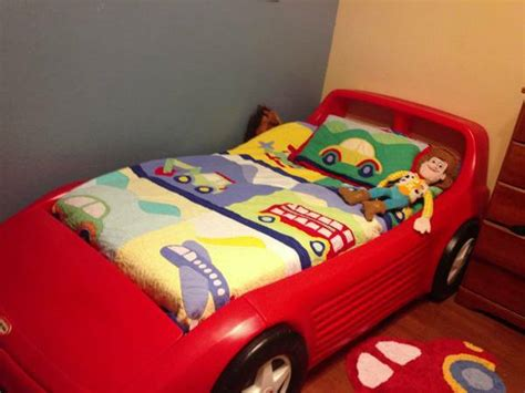 tikes race car bed size tikes car bed for sale