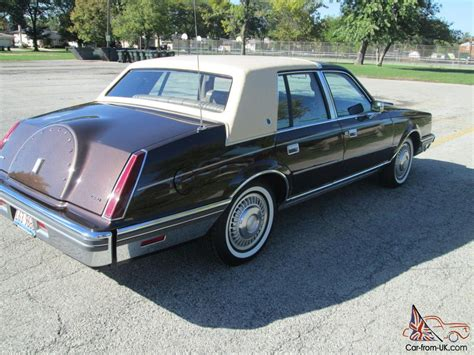 lincoln continental browntan  orig miles