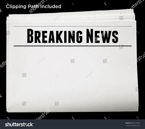 headline news online latest news headlines breaking newspaper breaking news headline blank content stock photo