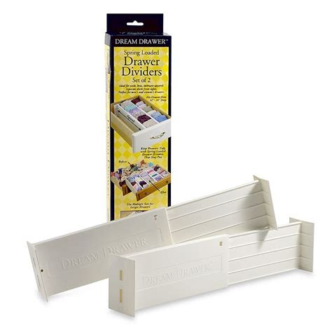 Expandable Drawer Dividers by Drawer Expandable Loaded Drawer Dividers