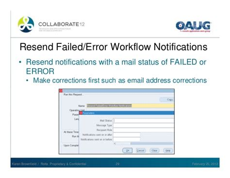 workflow notification mailer not sending emails oracle workflow use and administration
