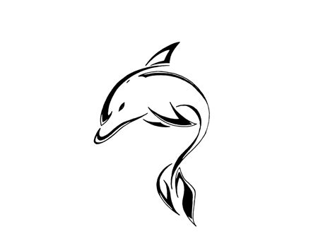 tribal outline tattoo designs 33 dolphin designs and ideas