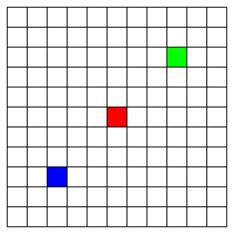 Filling The Grid by Tikz Pgf How Can I Fill The Grid Cell With Color In This