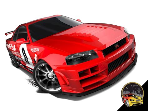 nissan hotwheels nissan skyline gt r34 shop wheels cars trucks