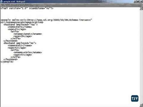 xml namespaces tutorial video xml tutorial 42 namespaces schemas youtube