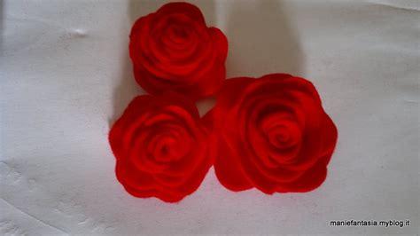 come fare i fiori di pannolenci realizzare di pannolenci metodo 2 manifantasia