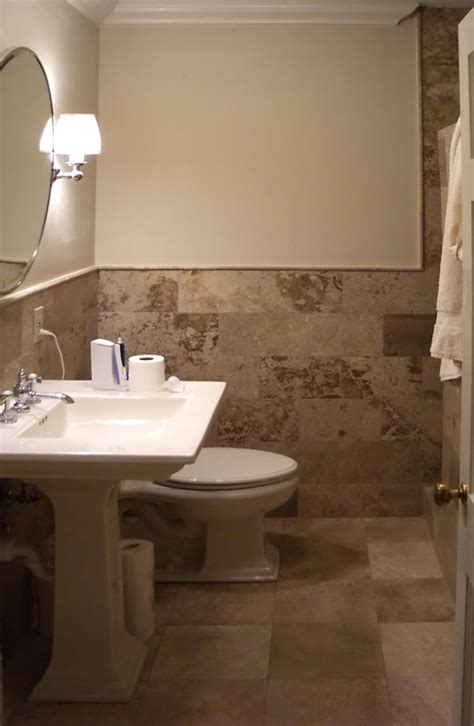 Bathroom Wall Tiling Ideas louis matching travertine bathroom floor bath testimonial image 2